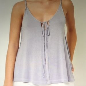 NWT Free People Scarlett Lilac Tank Top